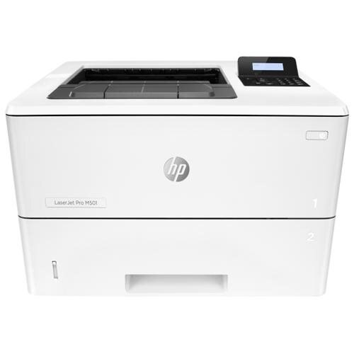 HP LaserJet Pro M501dn Laser Printer - Monochrome - 4800 x 600 dpi Print - Plain Paper Print - Desktop - 45 ppm Mono Print - Envelope No. 10, Oficio, A4, Monarch, Letter, Legal - 650 sheets Standard Input Capacity - 100000 Duty Cycle - Automatic Duplex Pr 0