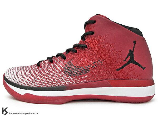 2016 雷霆隊 Russell Westbrook 代言 新生代飛人 限量發售 史上最強 NIKE AIR JORDAN XXX1 31 BG GS CHICAGO 大童鞋 女鞋 紅白 芝加哥 飛人 FLYWEAVE 鞋面 氣墊 籃球鞋 (848629-600) !