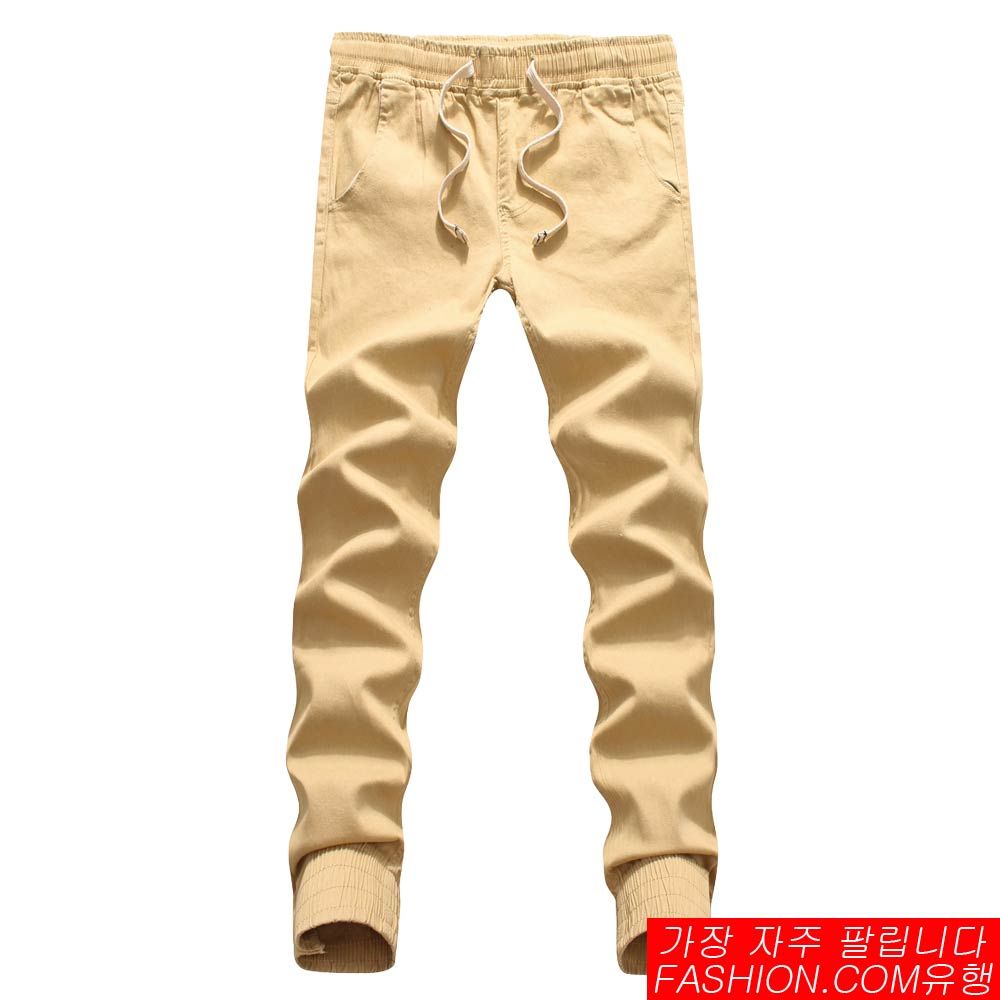 DITION 超彈力經典縮口褲 抽繩工作褲 3
