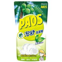 PAOS泡舒 洗潔精 補充包-綠茶 800g