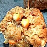 端午節粽子、人氣肉粽推薦【台北濱江】荷葉裹糯米雞肉香粽6粒裝