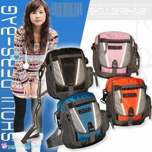 【Mountaineer】安全反光側背包.包包P043-EYE302