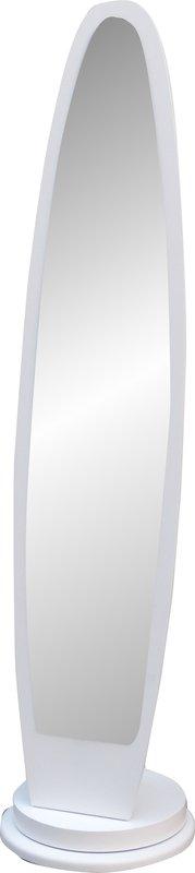 !!新生活家具!! 穿衣鏡 白色 旋轉 全身鏡 立鏡 化妝鏡 三色可選 繽紛 非 H&D ikea 宜家