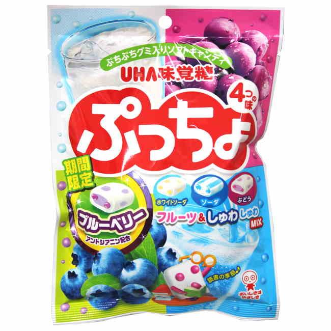 味覺糖四種綜合噗啾軟糖
