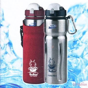 珍昕生活網:【珍昕】金星不銹鋼休閒水壺~2色4容量紅藍(1000.800.600.450cc))