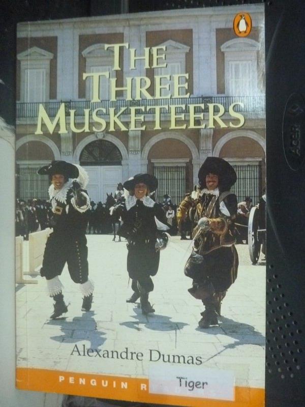 【書寶二手書T7/原文小說_IDB】The Three Musketeers_Alexandre Dumas