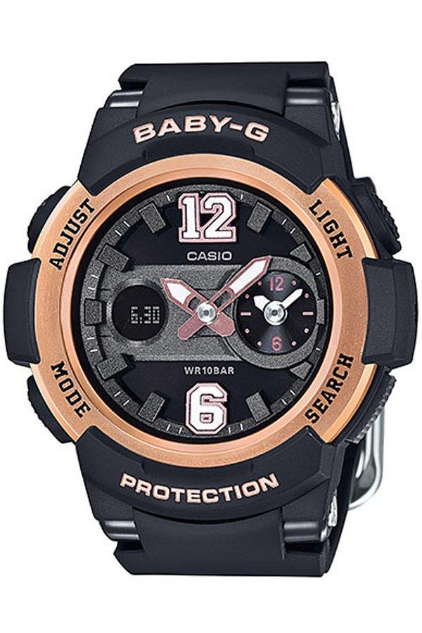 國外代購 CASIO baby-G BGA-210-1B 少女時代城市簽名限定版 女錶 手錶 腕表 情侶錶 黑金