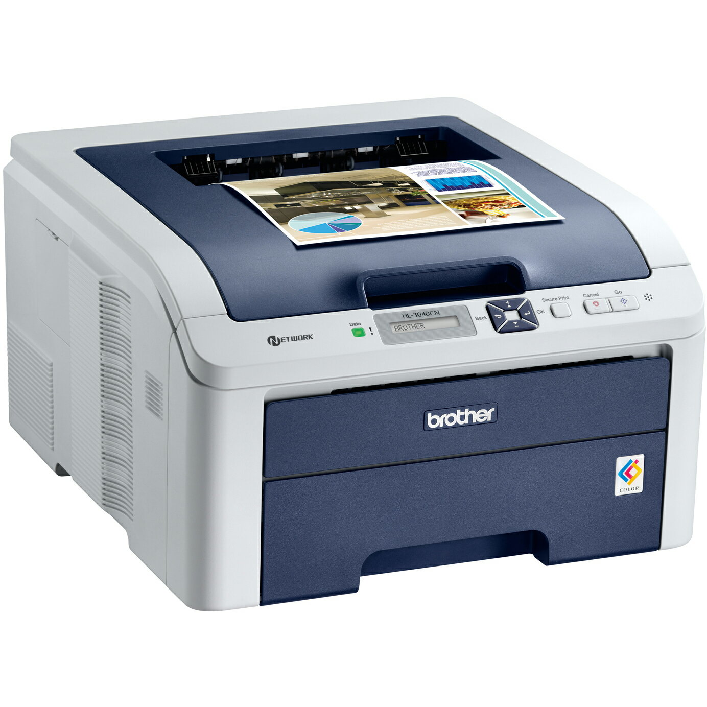 Brother HL-3040CN Digital Color Printer with Networking 3