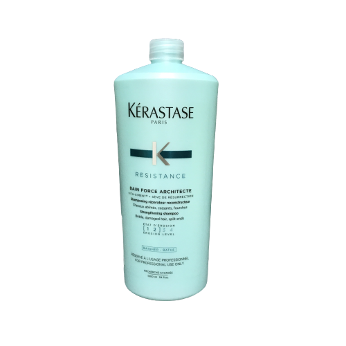 KERASTASE 卡詩 煥髮重建髮浴1-2級 +壓頭 1000ml - 限時優惠好康折扣
