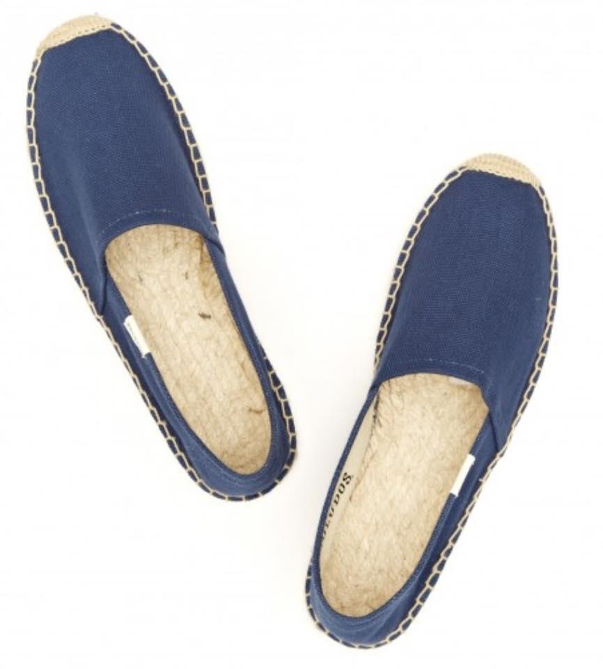 【Soludos】美國經典草編鞋-基本款草編鞋-深藍【全店滿4500領券最高現折588】 4
