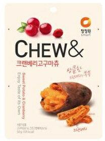 清淨園CHEW-地瓜果乾(蔓越莓口味)