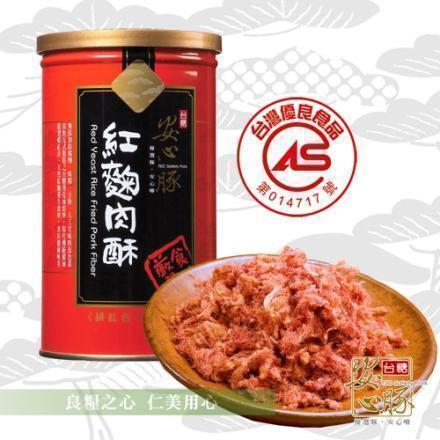 台糖 安心豚紅麴芝麻肉酥(200g/罐)