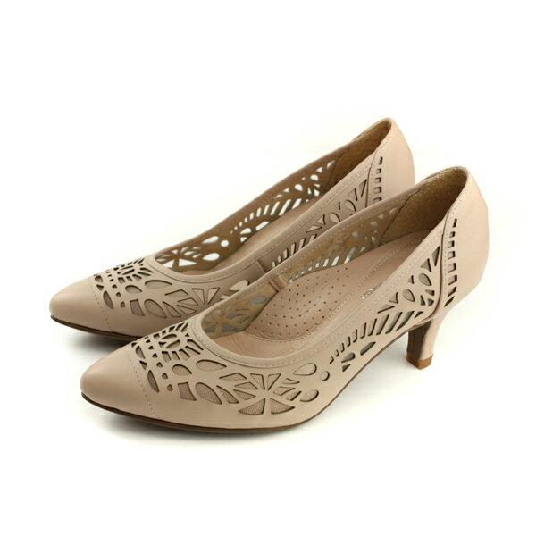 HUMANPEACE低跟鞋可可色女鞋053568BBno279
