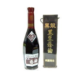 黑龍 特級黑豆蔭油(清油) 600ml/瓶