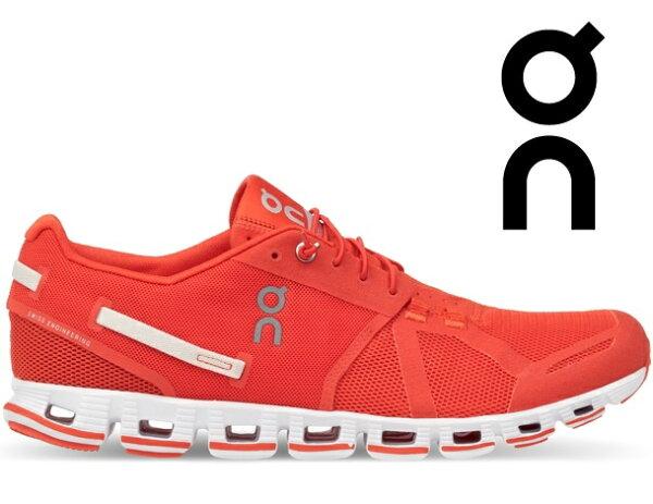 ON瑞士雲端科技跑鞋慢跑鞋路跑馬拉松野跑鞋限量馬卡龍輕量雲CloudMSunset熱情紅ON091445
