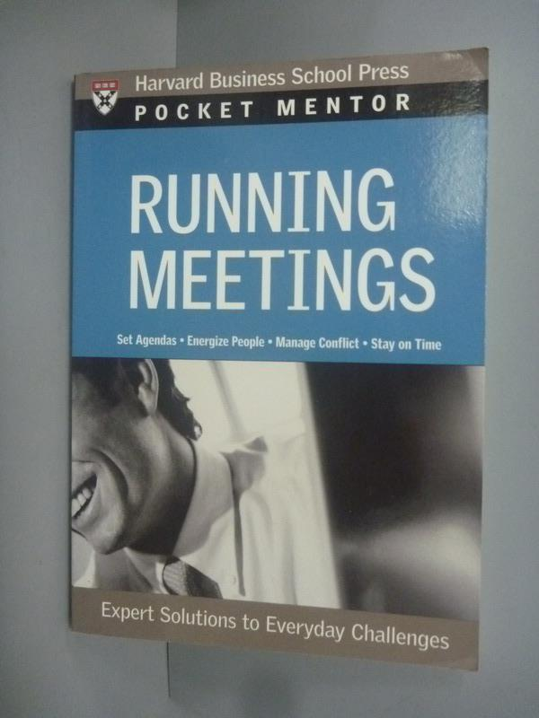 ~書寶 書T3/財經企管_KFL~Running meetings_Not Availab