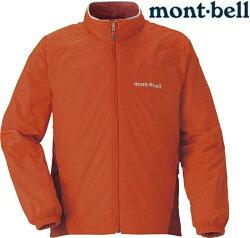 Mont-Bell 小朋友風衣/兒童風衣/小朋友登山外套 防潑水保暖防風 Light Shell 兒童款 1106511 SSOG橘紅