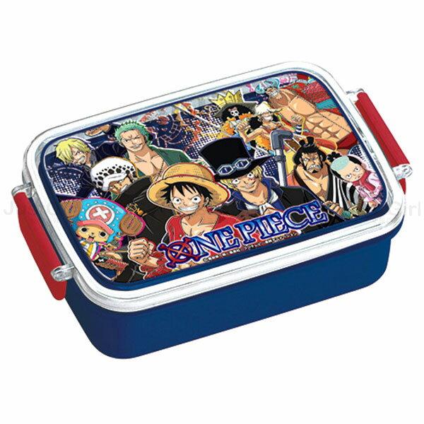 海賊王 航海王 便當盒 保鮮盒 2扣450ml 洗烘碗機微波OK 餐具 正版日本製造進口 * JustGirl *