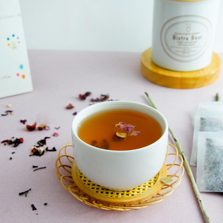 «奼紫嫣紅~美纖潤色茶»玫瑰·紅棗·錫蘭紅茶·薑片·複方花草茶~紅潤氣色·賦活青春·婀娜美