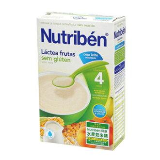 【安琪兒】西班牙【Nutriben 貝康】水果奶米精300g