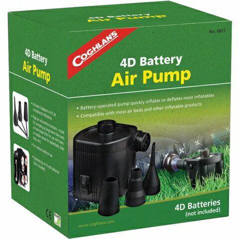 【露營趣】中和 加拿大 Coghlans 0817 電池式電動充氣幫浦 充氣馬達 充氣床用