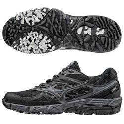 J1GK175951(黑X黑)  GORE-TEX 防水透氣 WAVE KIEN 4 G-TX (W) 女戶外慢跑鞋 A【美津濃MIZUNO】
