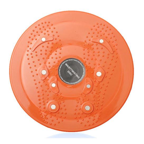 家用扭腰盤磁石按摩扭盤瘦腰瘦身扭腰機家用健身器材健腹輪實用1入