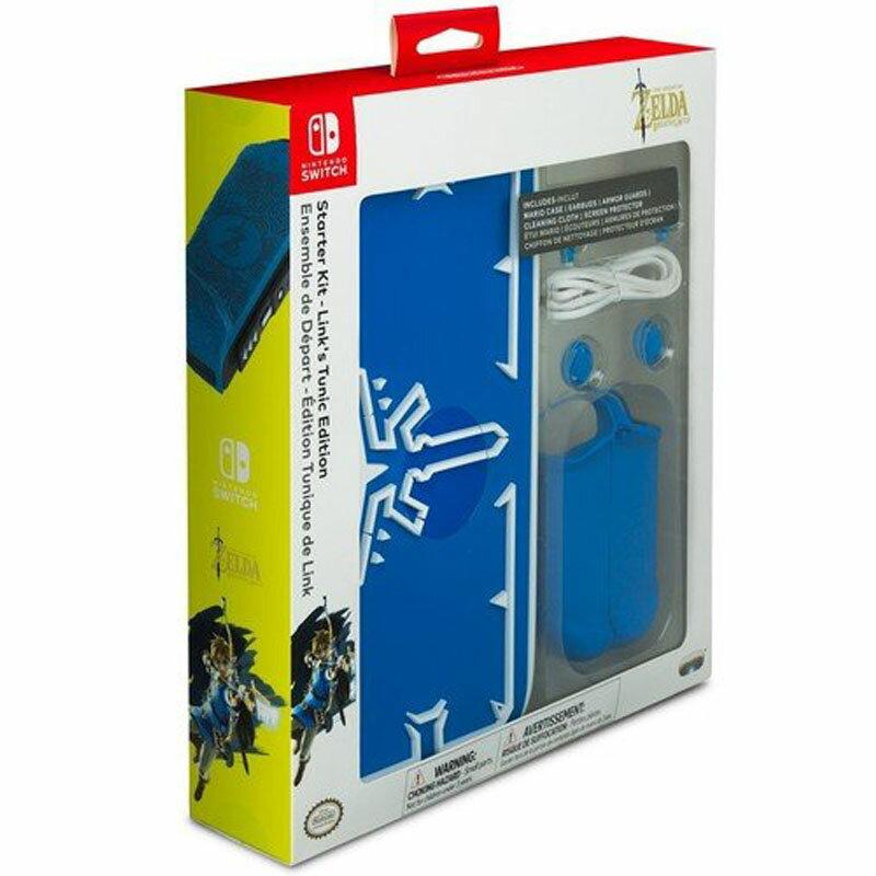 [106美國直購] PDP Nintendo 任天堂 Switch Starter Kit Link's Tunic Edition