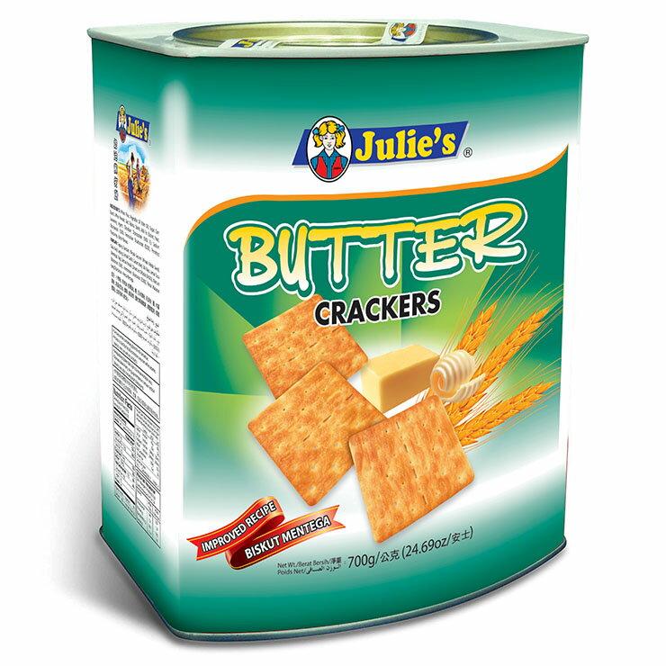 【Julies茱蒂絲】奶油蘇打餅-桶裝(700g)