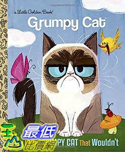 106美國直購  2017美國暢銷兒童書 The Little Grumpy Cat t