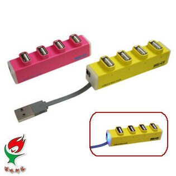 Ainmax 艾買氏網購專家:[NOVA成功3C]嘻哈部落SeeHot(SH-H809)4埠USB2.0HUB集線器喔!看呢來