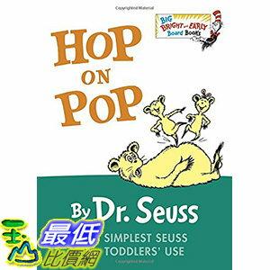 [106美國直購] 2017美國暢銷兒童書 Hop on Pop (Big Bright & Early Board Book) Board book - 限時優惠好康折扣
