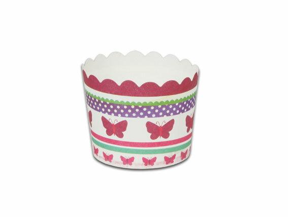 瑪芬杯、杯子蛋糕、烘烤紙杯 MF5040-09 蝴蝶(50pcs/包)