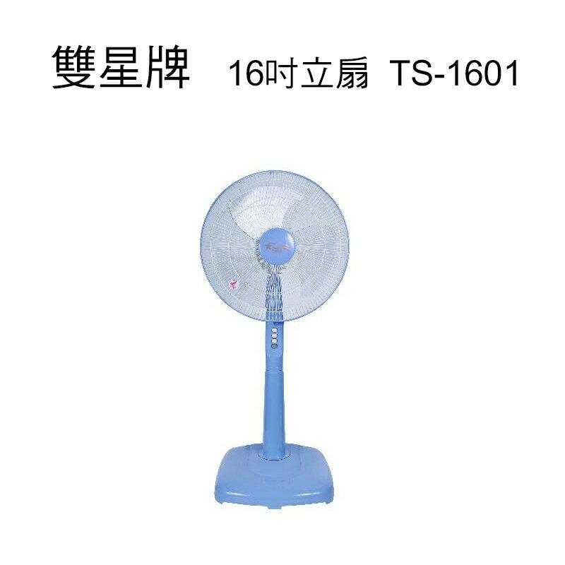 小玩子 雙星 16吋立扇 180度 按鍵式 三段 安全護網 台灣製造 TS-1601