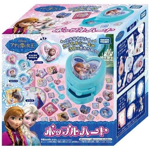 《 TAKARA TOMY》冰雪奇緣心鑽立體貼紙機
