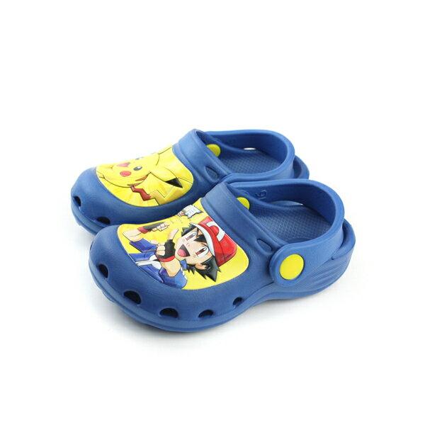 神奇寶貝皮卡丘休閒鞋童鞋藍色中童no679