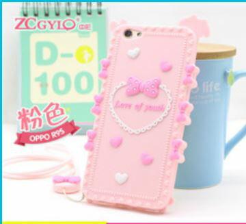 OPPOR9SPLUS奇葩ZCGYLP軟矽膠卡通造型立體手機殼