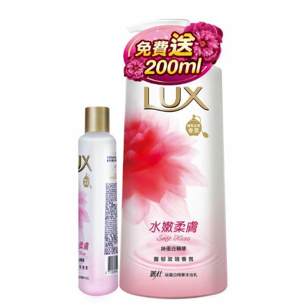 麗仕水嫩柔膚沐浴乳1000ml +(水嫩柔膚200ml)