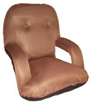 【MSL】京都日式扶手和室椅(咖啡色)