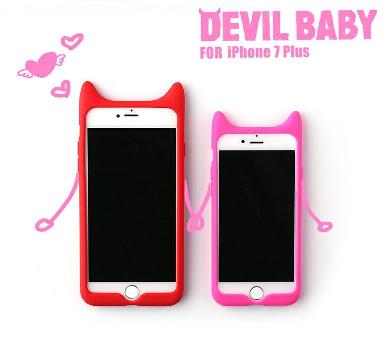 【Baseus倍思】[APPLE]✨矽膠防水可愛小惡魔✨7plus/保護套/防水矽膠/卡通/可愛/超薄新款/軟潮/保護攝像頭[iphone7/iphone7plus] 2