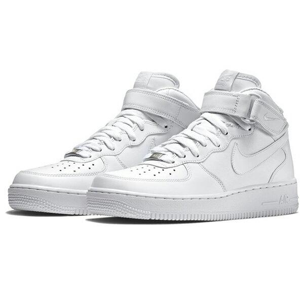 【NIKE】AIR FORCE 1 MID 07 LE 運動鞋 休閒鞋 白色 男鞋 -315123111