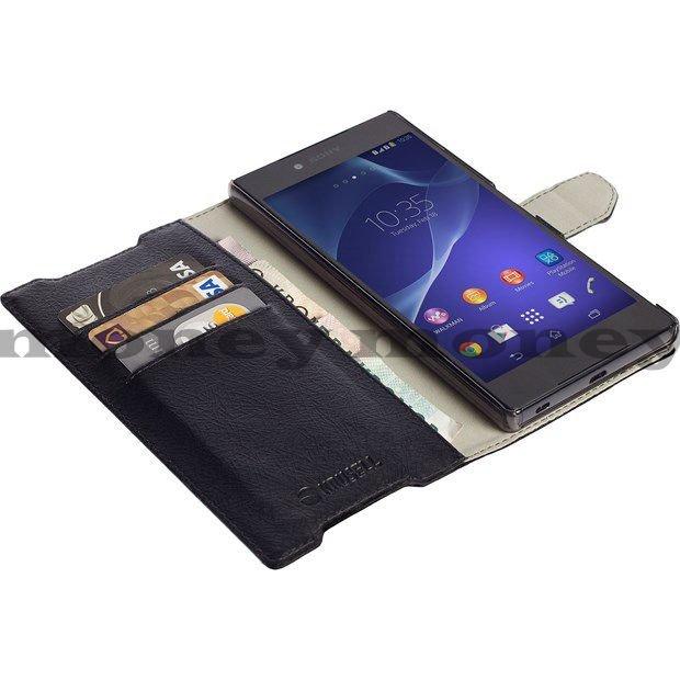 皮革側掀套 KRUSELL SONY Z5 Premium/手機殼/保護套/側翻套/立式皮套/磁扣皮套【馬尼行動通訊】