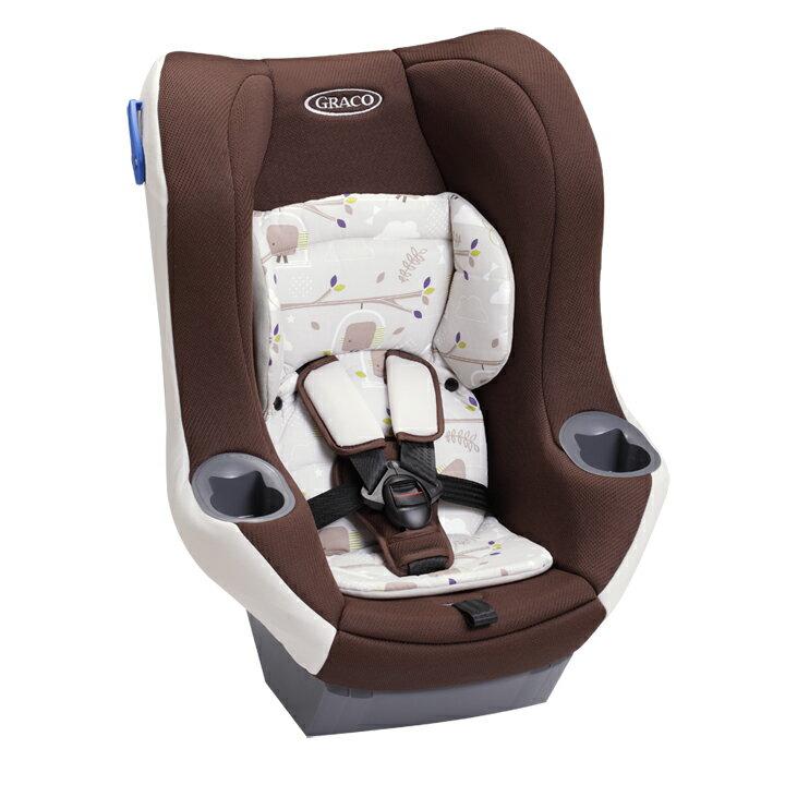 Graco--0-4歲前後向嬰幼兒汽車安全座椅 MYRIDE【37018森林花園】