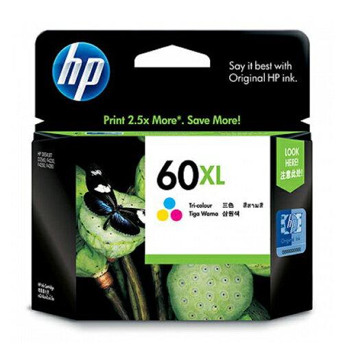 【OKIN】HP 原廠彩色墨水匣 CC644WA 60XL 印表機耗材 噴墨印表機