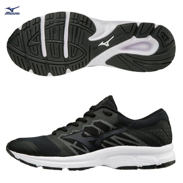 J1GE181851(黑)一般型鞋款MIZUNOEZRUNLX避震加強型男慢跑鞋S【美津濃MIZUNO】