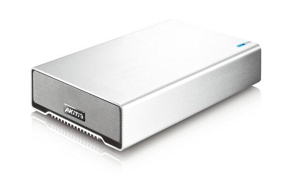 AKiTiOSK-3501星極光U33.5型銀色硬體外接盒