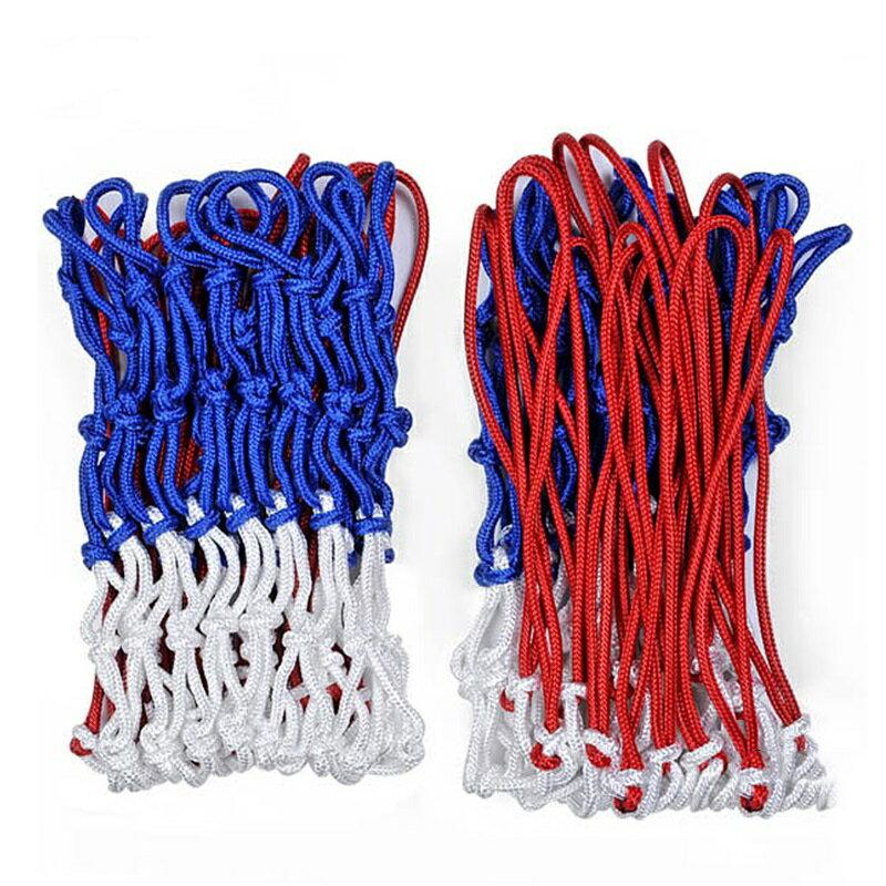 鐵人牌 BN100 三色籃球網 (紅/白/藍) (2入)