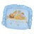 『121婦嬰用品館』狐狸村 彈力透氣紓壓造型枕-藍 0