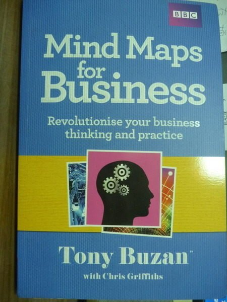 ~書寶 書T4/原文書_PFU~Mind Maps for Business_Tony B