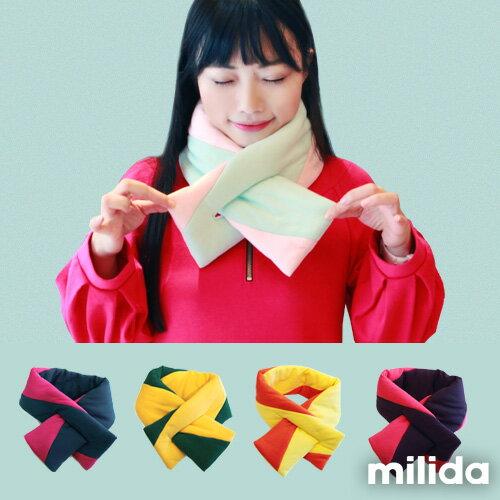 【Milida,全店七折免運】-秋冬單品-棉花糖圍巾